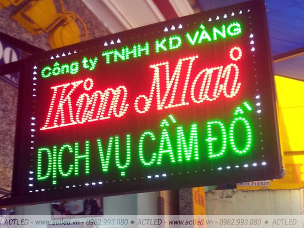 Biển quảng cáo LED P10 3 màu