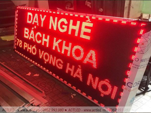 Biển quảng cáo LED P10 đỏ