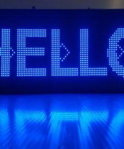 Biển quảng cáo LED P10 xanh dương