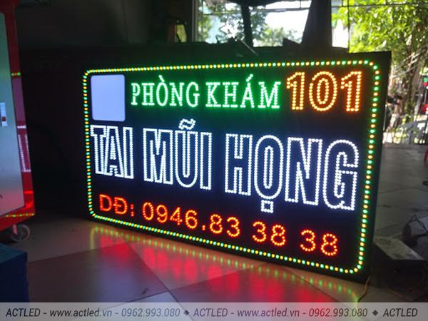 Biển quảng cáo LED P7.62 3 màu