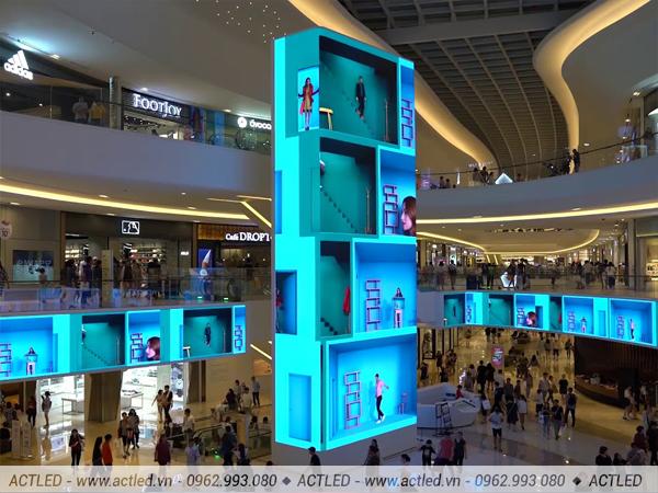 Màn hình led p4 cho quảng cáo trong nhà